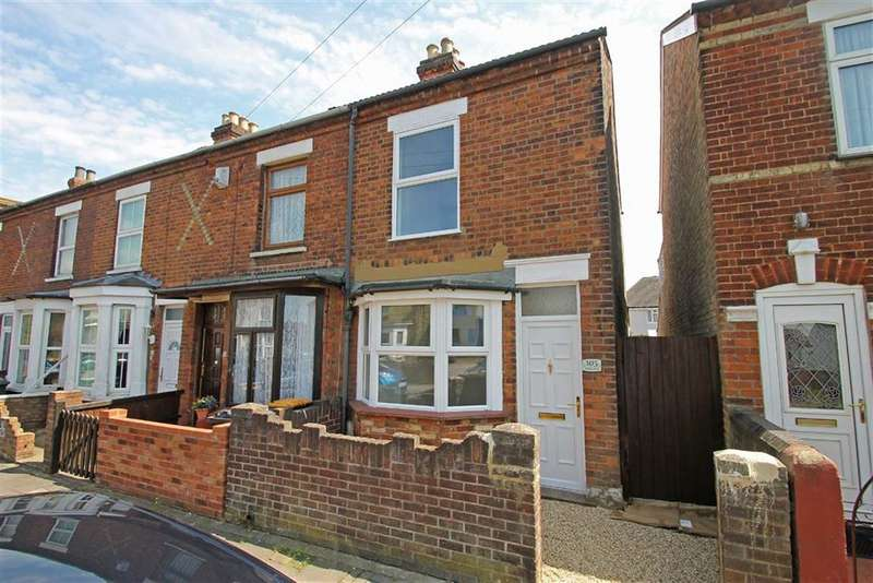 2 Bedrooms End Of Terrace House for sale in Fenlake Road, Bedford