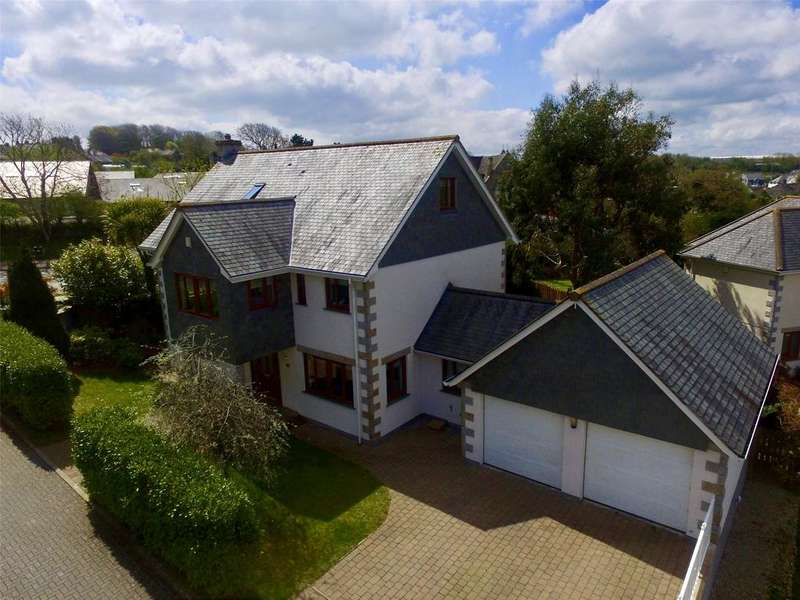 5 Bedrooms Detached House for sale in Jenner Parc, St. Columb