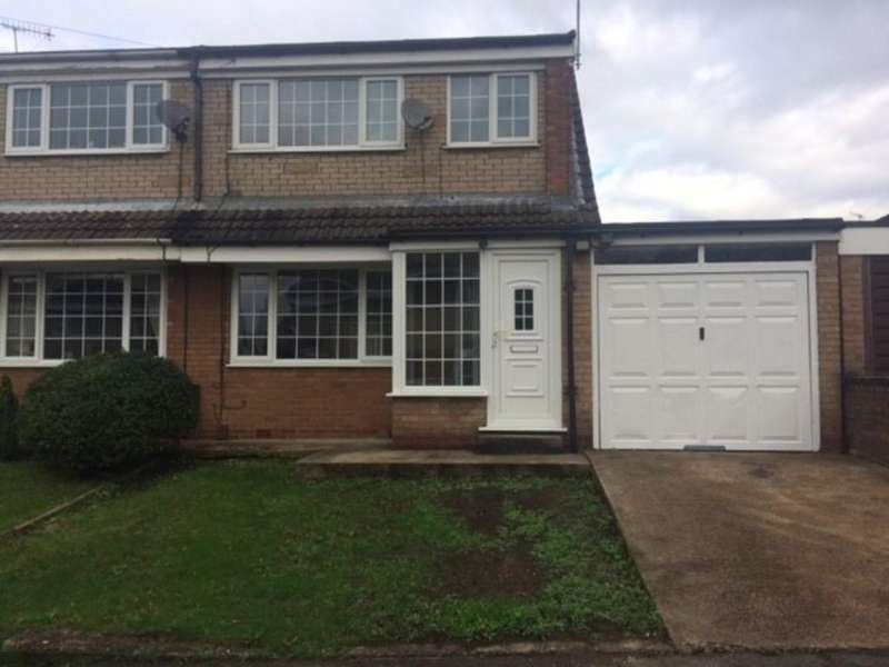 3 Bedrooms Semi Detached House for rent in 2 Webster Close, Rotherham. S61 2BW