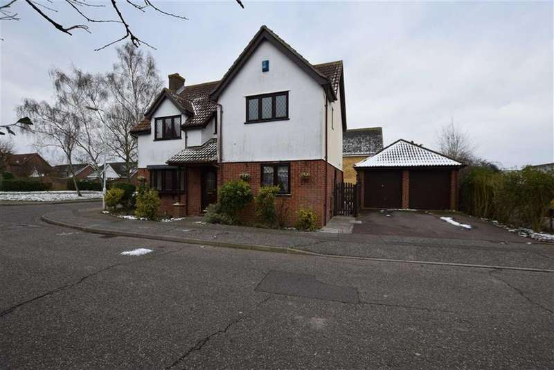 4 Bedrooms Detached House for sale in Althorne Close, Basildon, Essex
