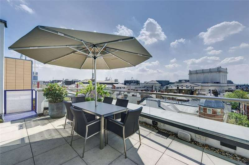 3 Bedrooms Penthouse Flat for sale in Drury Lane, Covent Garden, WC2B