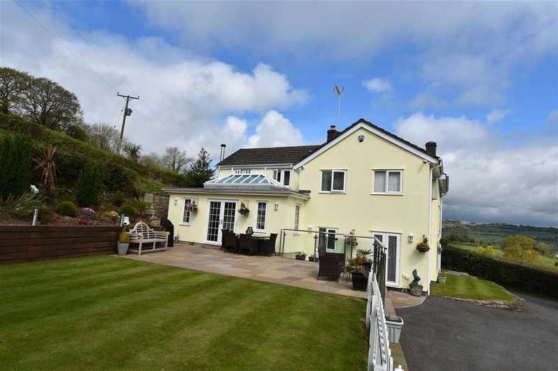 4 Bedrooms Detached House for sale in Yew Tree Cottage, Usk Road, Shirenewton, Chepstow