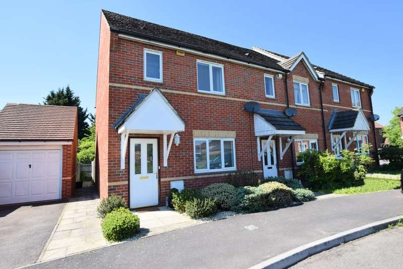 3 Bedrooms End Of Terrace House for sale in Deardon Way, Shinfield, Reading, RG2