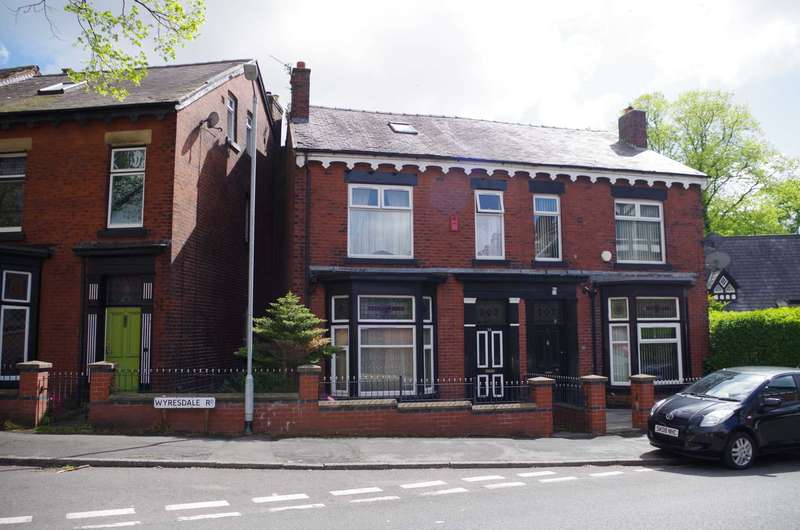 6 Bedrooms Semi Detached House for sale in Wyresdale Road, Heaton