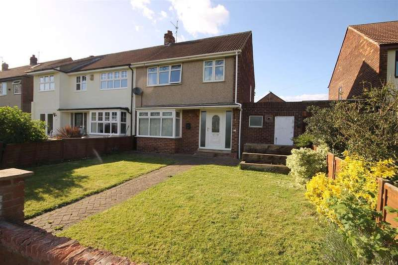3 Bedrooms Semi Detached House for sale in Farndale Road, Seaton Carew, Hartlepool