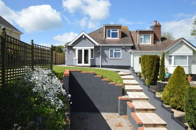 3 Bedrooms Semi Detached Bungalow for sale in Shiphay, Torquay
