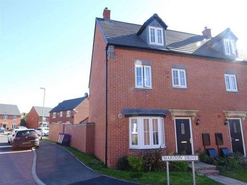 4 Bedrooms Semi Detached House for sale in Maroon Drive, Burbage