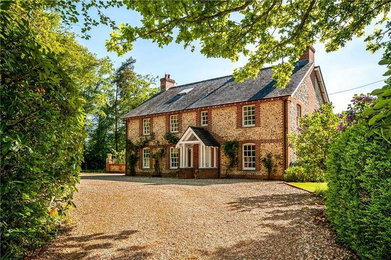 5 Bedrooms Detached House for sale in Upper Wield, Alresford, Hampshire, SO24