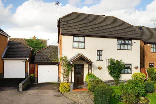 4 Bedrooms Detached House for sale in Broadacres, Luton, LU2