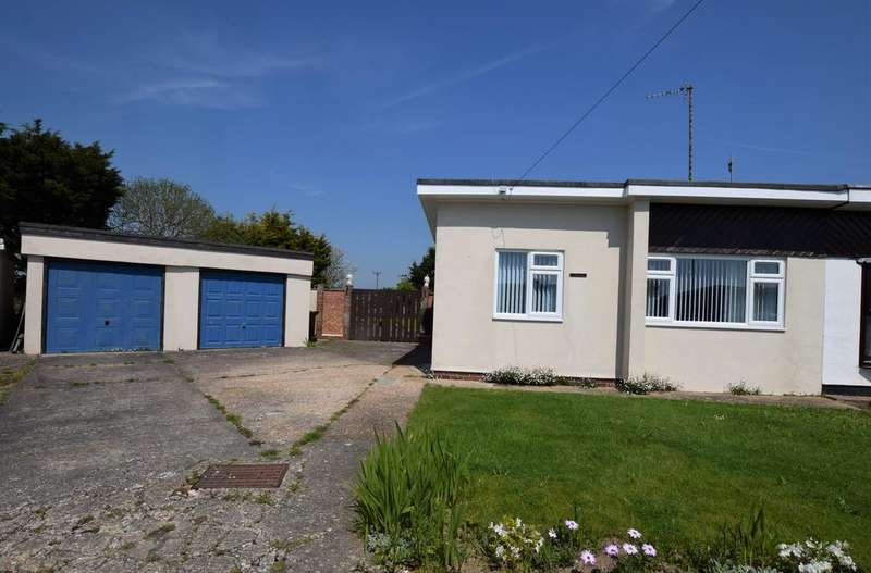 2 Bedrooms Semi Detached Bungalow for sale in Arundel Close, Pevensey Bay BN24