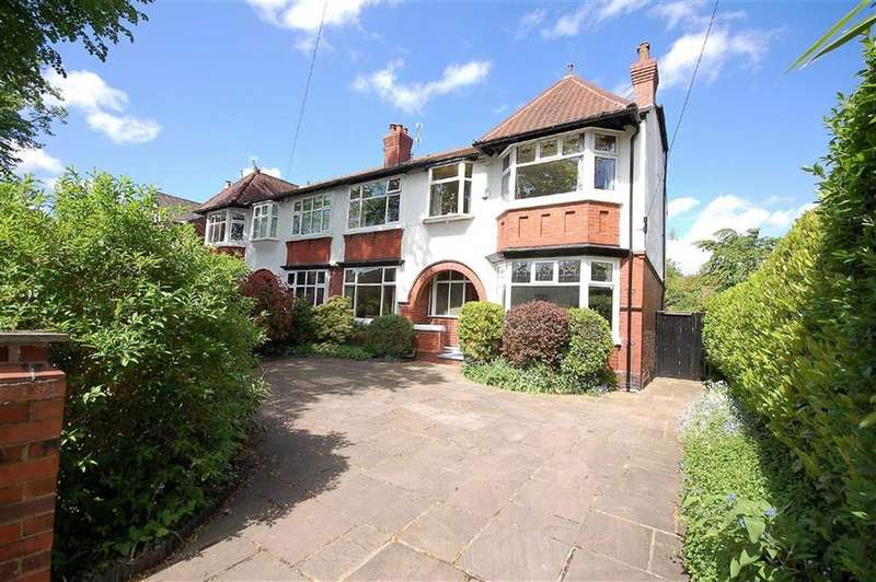 5 Bedrooms Semi Detached House for sale in Darley Avenue, West Didsbury, Manchester, M20