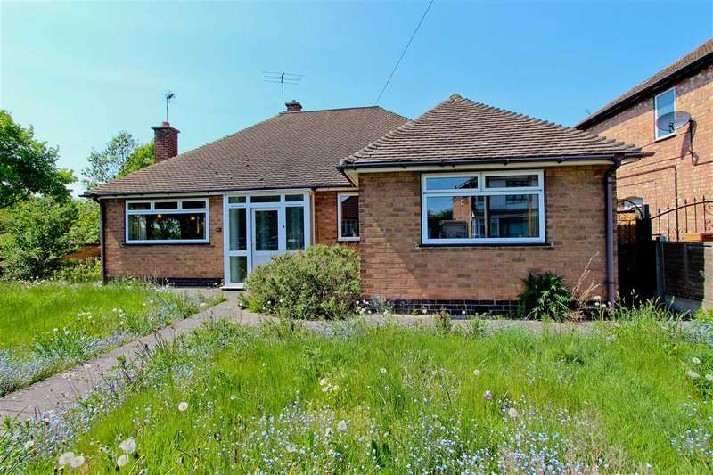 3 Bedrooms Bungalow for sale in Holmfield Avenue East, Leicester