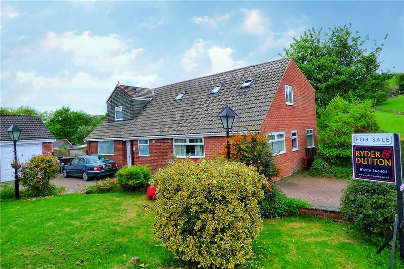 5 Bedrooms Detached House for sale in The Greens, Whitworth, Rochdale, OL12