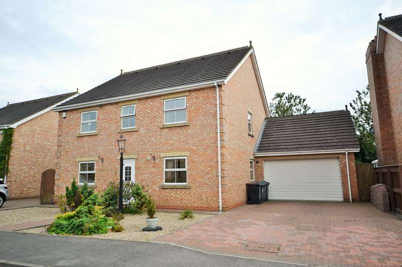 4 Bedrooms Detached House for sale in St. Johns Mews, Burnhope, Durham, DH7