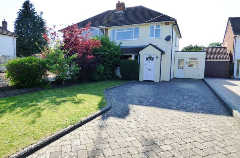 3 Bedrooms Semi Detached House for sale in Silver Fox Crescent, Woodley