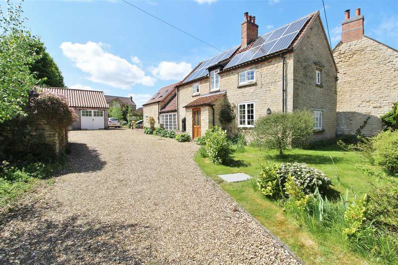 3 Bedrooms Cottage House for sale in Kirk Cottage, Main Street, Welby, Grantham