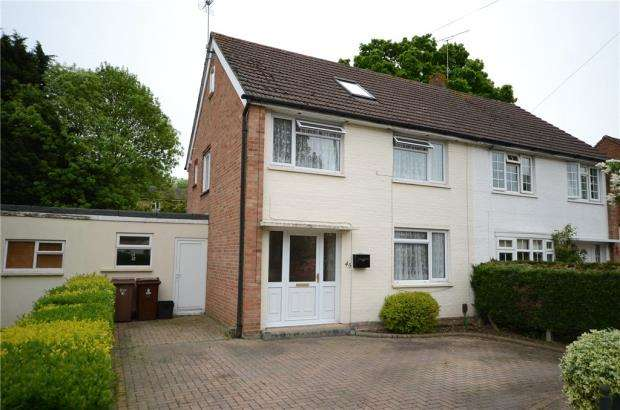3 Bedrooms Semi Detached House for sale in Longs Way, Wokingham, Berkshire