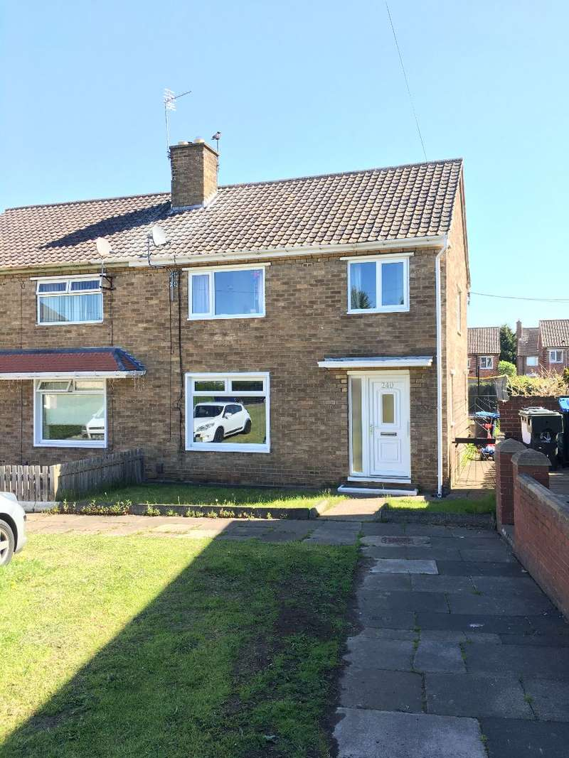 3 Bedrooms Semi Detached House for rent in Overdale Road, Park End Middlesbrough TS3