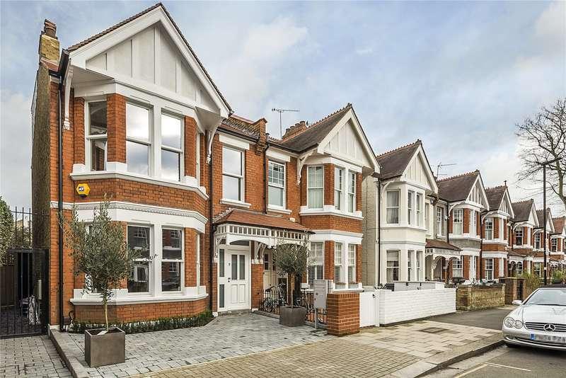 4 Bedrooms Semi Detached House for sale in Alwyn Avenue, London, W4