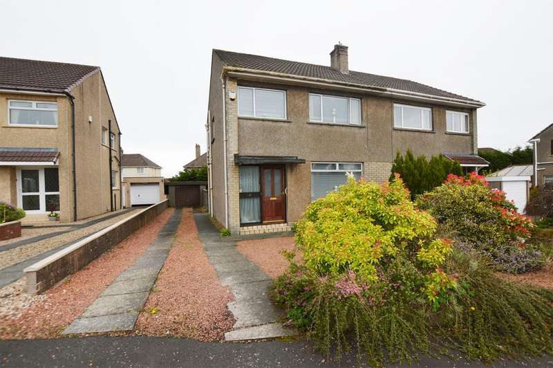 3 Bedrooms Semi Detached House for sale in 11 Northacre Kilwinning KA13 7DS