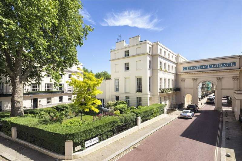 6 Bedrooms End Of Terrace House for sale in Chester Terrace, Regent's Park, London, NW1