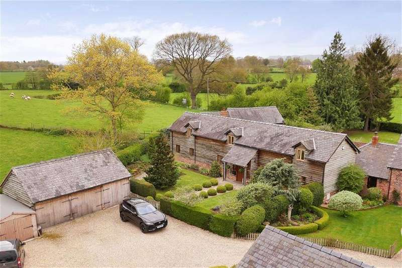 5 Bedrooms Barn Conversion Character Property for sale in The Oak Barn, Knockin, Oswestry, SY10