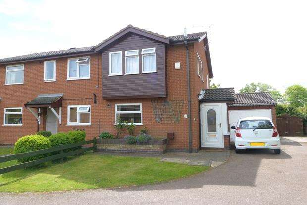 2 Bedrooms End Of Terrace House for sale in Moorland Road, Syston, Leicester, LE7