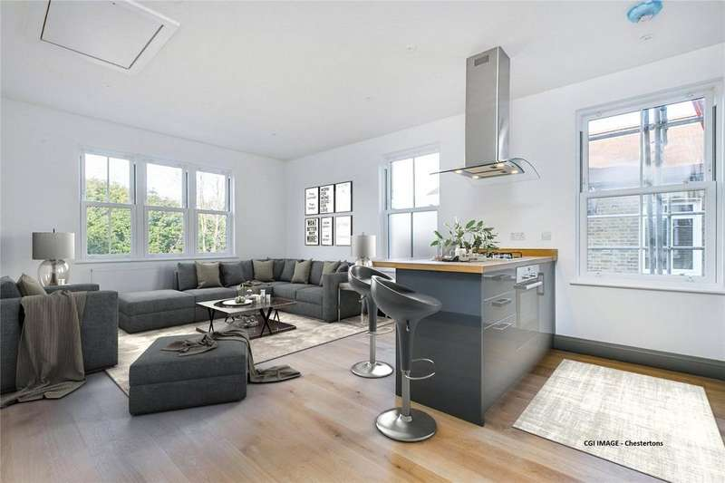 2 Bedrooms Flat for sale in Buxton Gardens, Acton, London