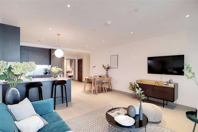 2 Bedrooms Flat for sale in The Taper Building, Long Lane, London, SE1