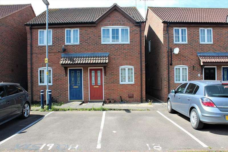 2 Bedrooms Semi Detached House for sale in Fydell Court, Boston, PE21