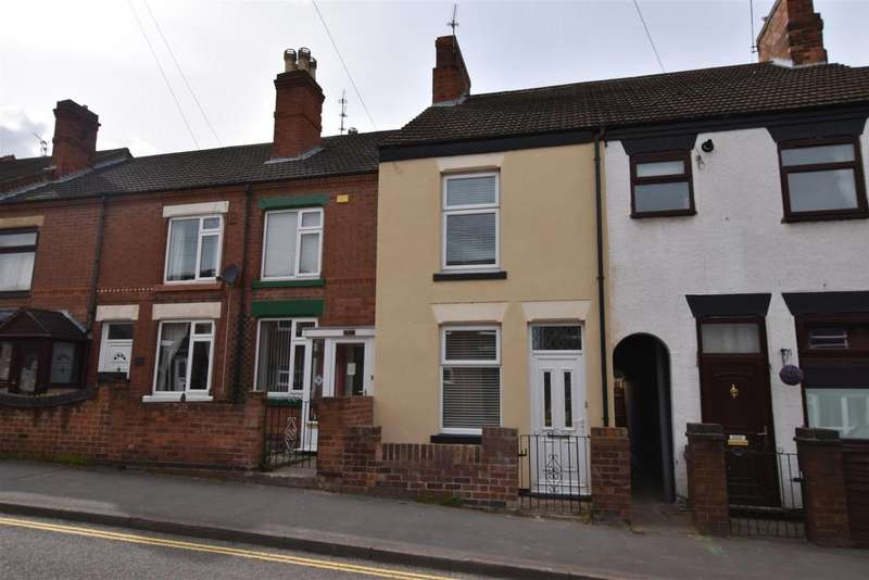 2 Bedrooms Terraced House for sale in Charnwood Road, Shepshed, Loughborough