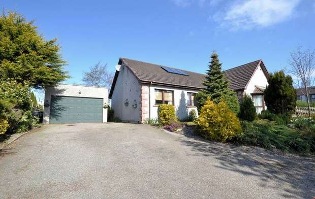 4 Bedrooms Detached Bungalow for sale in Kirkton of Auchterless, Auchterless, Turriff, Aberdeenshire