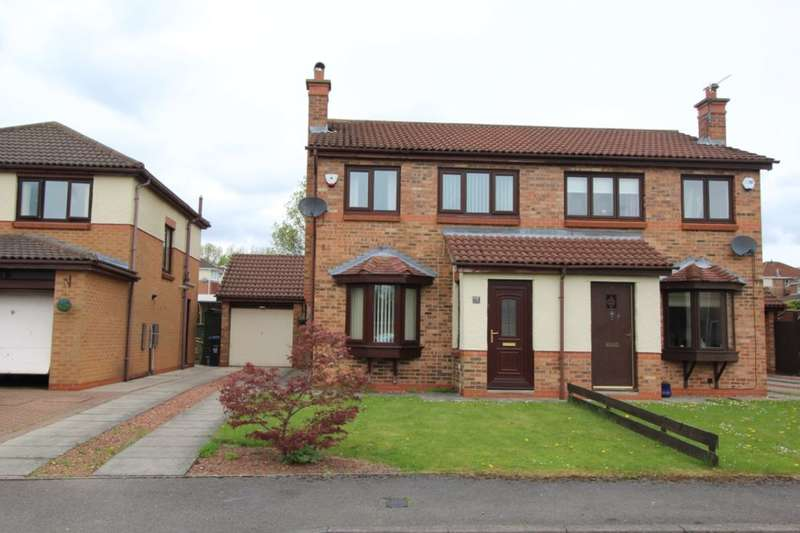 3 Bedrooms Semi Detached House for sale in Brancepeth View, Brandon, Durham, DH7
