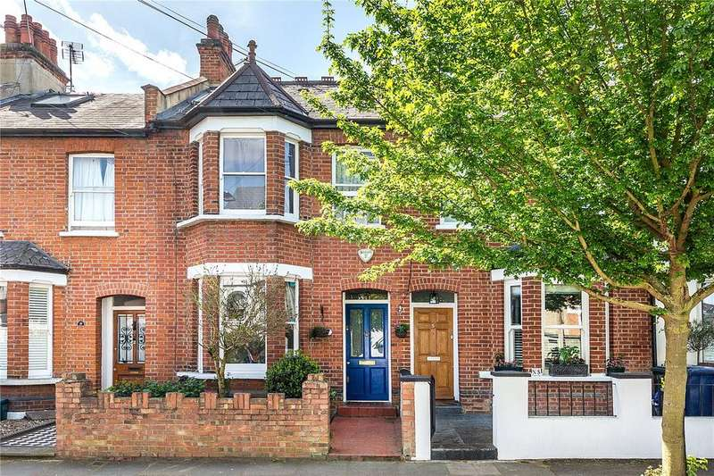 3 Bedrooms Terraced House for sale in Evelyn Road, Chiswick, London, W4