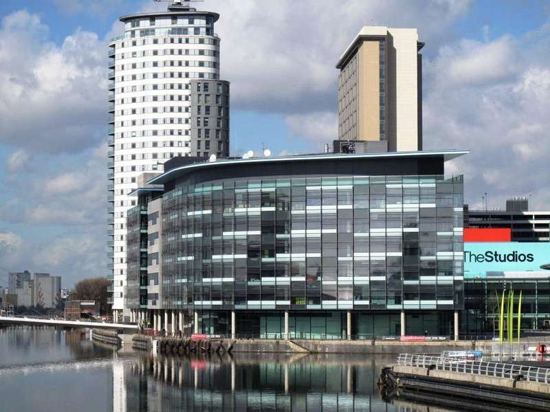 Studio Flat for sale in The Heart, Blue, Media City UK, Salford, Greater Manchester, M50