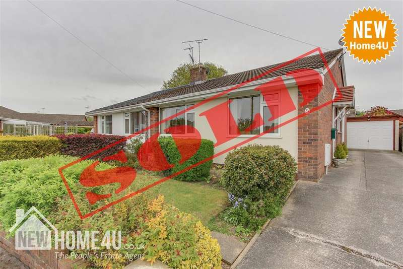 2 Bedrooms Semi Detached Bungalow for sale in St. Mellors Road, Buckley