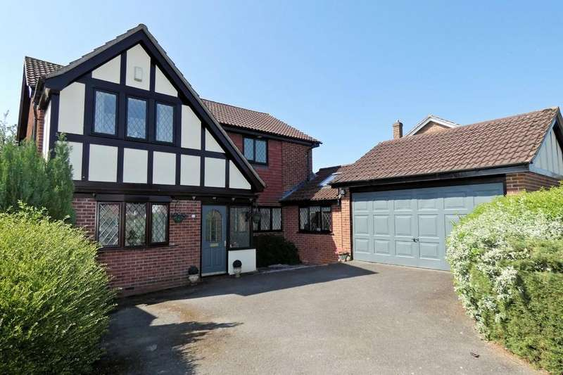 4 Bedrooms Detached House for sale in The Grange, Packington