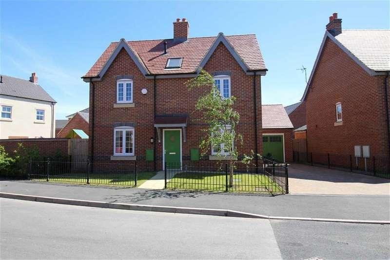 3 Bedrooms Detached House for sale in James Clarke Road, Willington, Derbyshire
