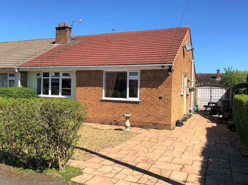 2 Bedrooms Semi Detached Bungalow for sale in Sussex Close, Pensby