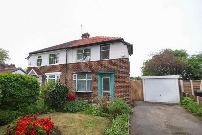 2 Bedrooms Semi Detached House for sale in Falmouth Avenue, Flixton, Manchester, M41