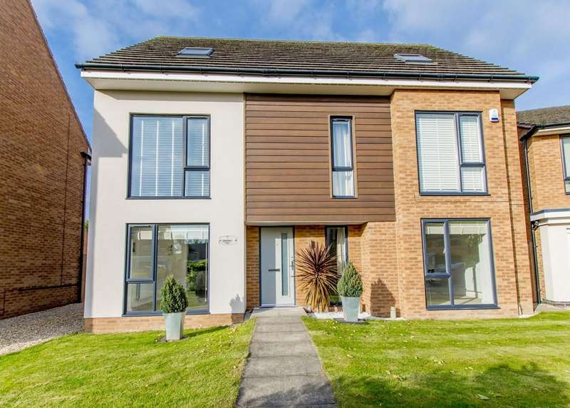 5 Bedrooms Detached House for sale in Pasture Way, Tickhill