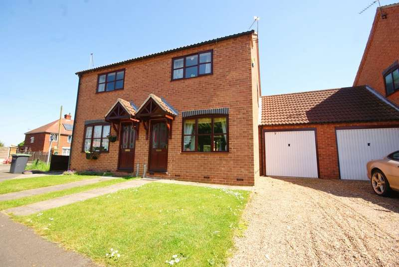 2 Bedrooms Semi Detached House for sale in Maple Drive, Bassingham, Lincoln LN5
