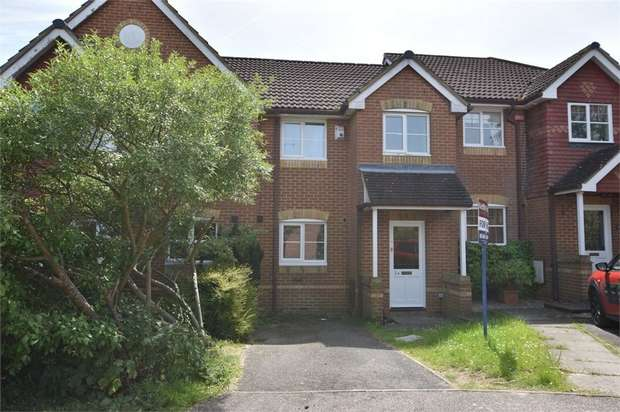 2 Bedrooms Terraced House for sale in Oswald Close, Warfield, Bracknell, Berkshire