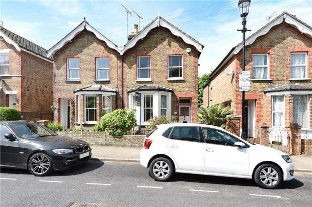 4 Bedrooms Semi Detached House for sale in Vansittart Road, Windsor, Berkshire