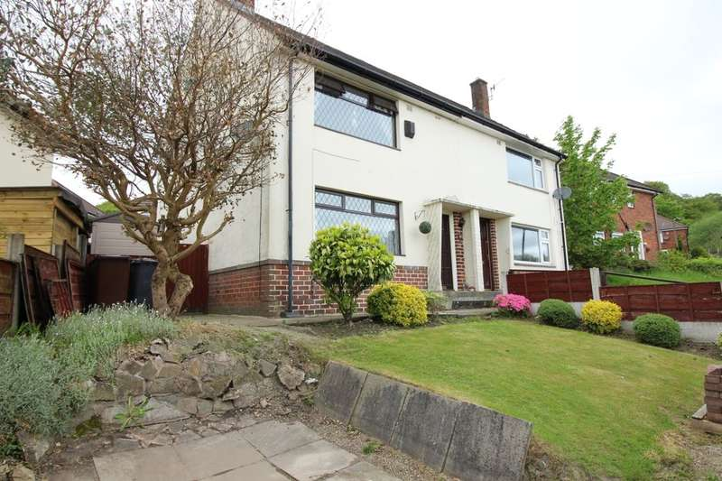 2 Bedrooms Semi Detached House for sale in George Road, Ramsbottom, Bury, BL0