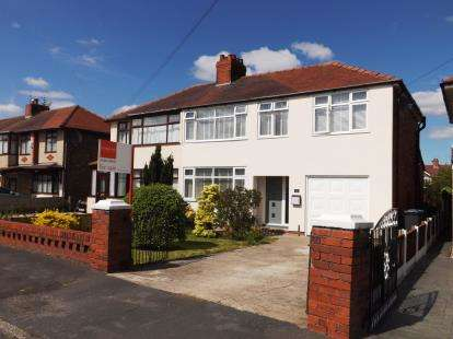 4 Bedrooms Semi Detached House for sale in Cleveleys Road, Great Sankey, Warrington, Cheshire
