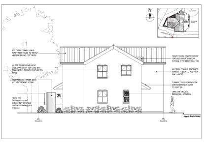 2 Bedrooms Flat for sale in Upper Bath Road, Thornbury