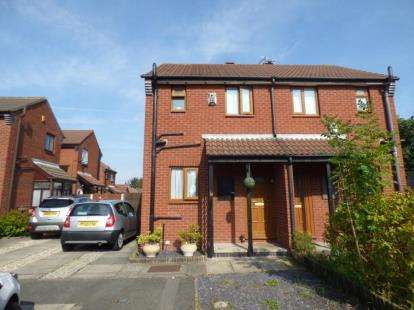 2 Bedrooms Semi Detached House for sale in Shewell Close, Tranmere, Wirral, CH42