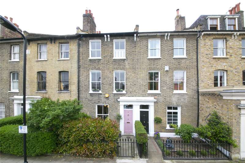 4 Bedrooms Terraced House for sale in Wilton Way, Hackney, E8