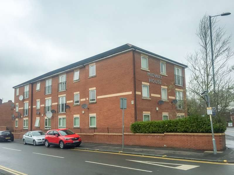 2 Bedrooms Flat for sale in Cheetham Hill Road, Manchester, Greater Manchester, M8
